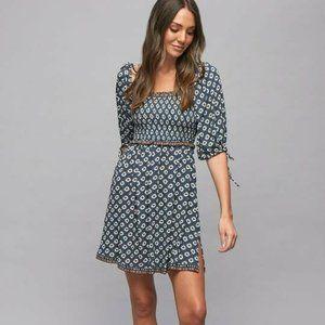 TIGERLILY Belize Liza Shirred Mini Dress BNWT